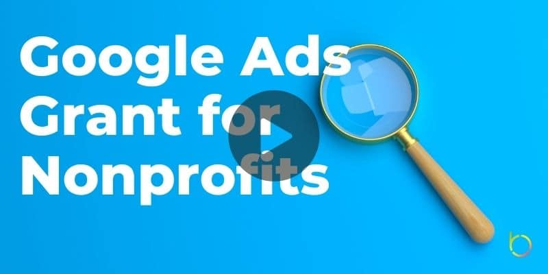 Google Ads Grant for Nonprofits