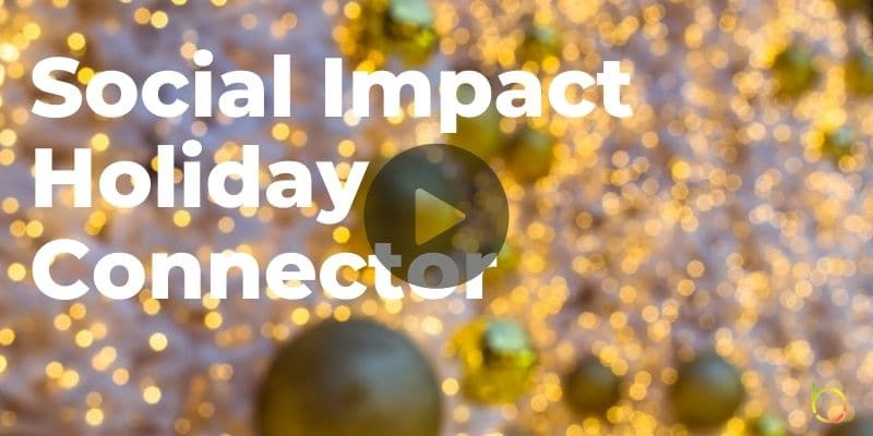 Social Impact Holiday Connector Play