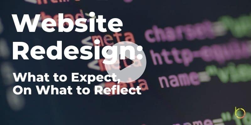 Website Redesign Play